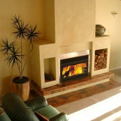 Open Wood Fireplaces
