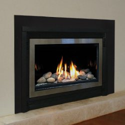 In-Built Gas Log Fires