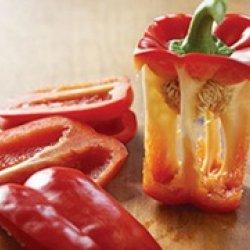 Preparing Bell Peppers