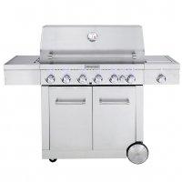 KitchenAid 6 Burner Freestanding BBQ