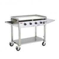 Stainless Steel Clubman 4 Burner (includes Weather proof lid)