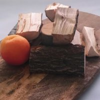 Apricot chunks, Natural Smoke