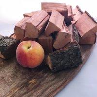 Peach chunks Natural Smoke