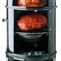 Weber Smokey Mountain Cooker Charcoal BBQ 47cm