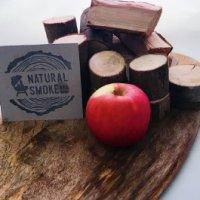 Applewood Chunks Natural Smoke.
