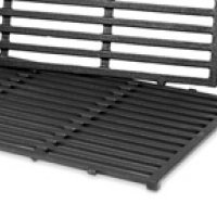 Porcelain-Enameled Cast-Iron Cooking Grates: Genesis® 300 series  Dimensions: 19.5