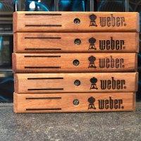 Timber handle suit Weber,  Wandoo wood $22.00 Each