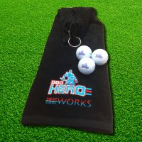 BBQ Hero Towel + Golf Balls Gift Package