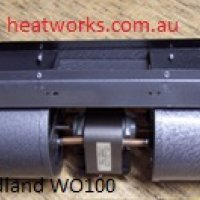 Woodland WO100 Replacement Fan