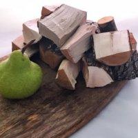 Pear wood chunks Natural Smoke