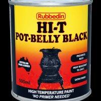 Paint Pot Belly black