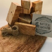 Aussie Oak chunks Natural Smoke