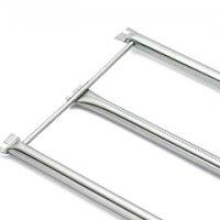 Stainless Steel Burner Tube Set: Spirit® 700, Genesis® Silver B/C, and Genesis® Gold(2002-2004)  Dimensions: 28