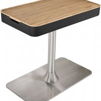 Bamboo Table Insert for Fusion Pedestal
