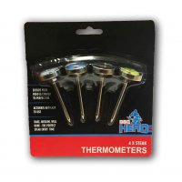 BBQ Hero 4 x Steak Thermometers