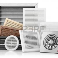 Ventilation for open fronted gas fires