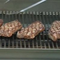 Grilling Strip Steaks