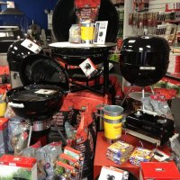 Norwood Display Charcoal Kettles