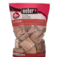 Weber Firespice Smoking Wood Cherry Chunks 1.8 kg