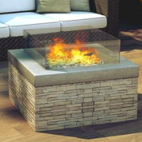 Fire Pit by Real flame