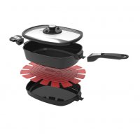 Weber Q Ware Small Casserole/Frying Pan Pack