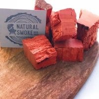 Red Gum chunks Natural Smoke