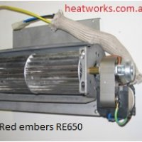 Red Embers RE650 Replacement Fan