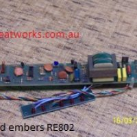 Red Embers RE802 Replacement Circuit Board