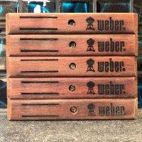 Timber handle suit Weber, Jarrah $22.00 each