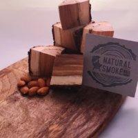 Almond wood Chunks Natural Smoke