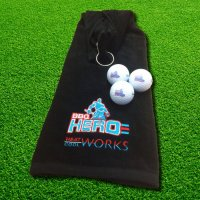 BBQ Hero Towel + Golf Balls Gift Package $24.95