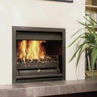 Open wood fire LIGNA