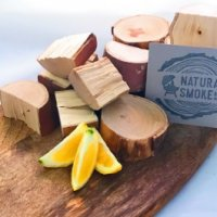 Lemon scented gum chunks Natural Smoke