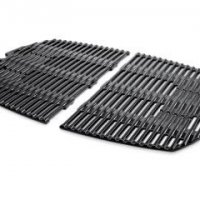 Porcelain-Enameled Cast-Iron Cooking Grates: Weber Q® 300/3000  Dimensions: 25